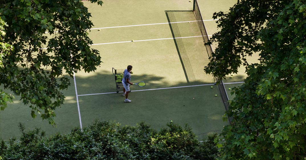 Dolphin Square gym riverside tennis court